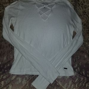 Hollister must have collection long sleeve crop!